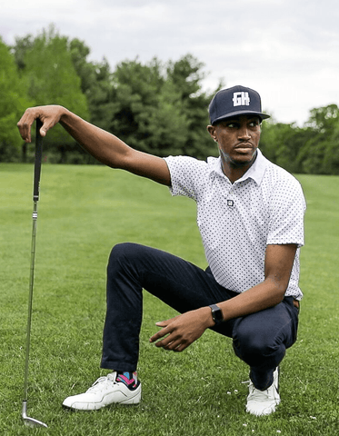 Connect The Dots Golf Polo - Greater Half