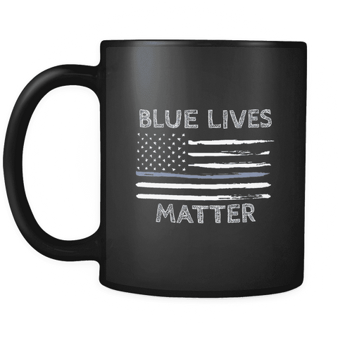 Image of Blue Lives Matter Mug - Greater Half