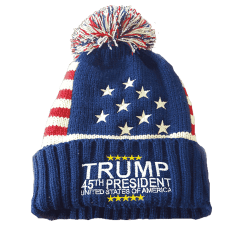 Trump 45th President Beanie - Greater Half