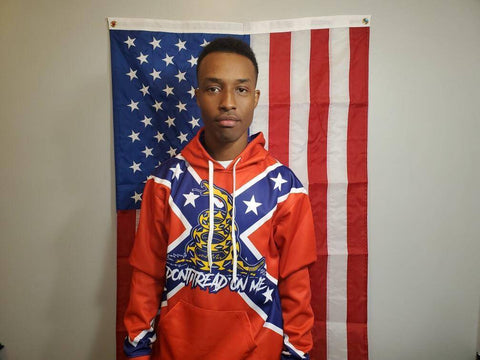 Image of Confederate Gadsden Hoodie - Greater Half