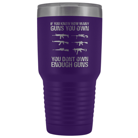 If You Know How Many Guns You Own Tumbler