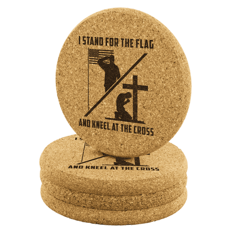 Image of Stand for the Flag Kneel for the Cross Coasters