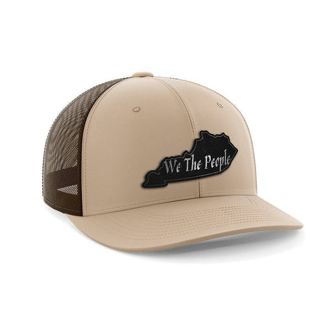 Image of We The People Kentucky Black Patch Hat
