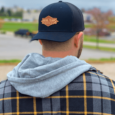 Liberal Tears Brewing Co. Leather Patch Hat