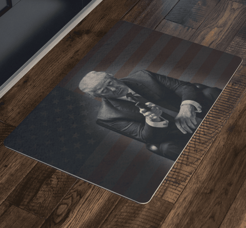 Image of Trump Gun Doormat