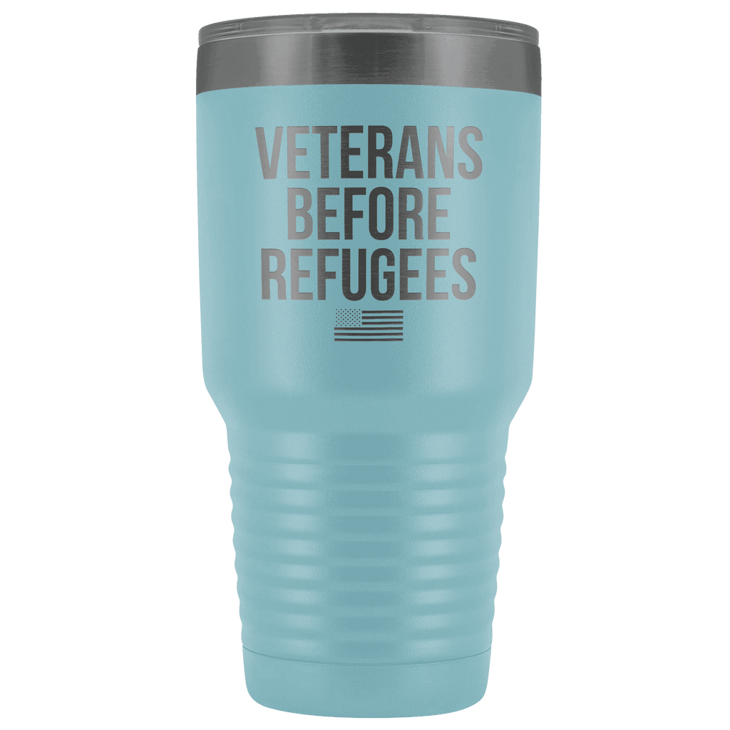 Veterans Before Refugees Tumbler