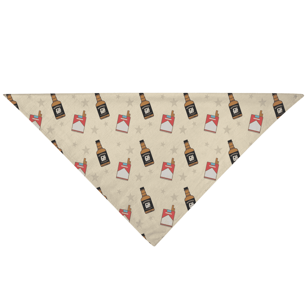 Cigs n' Whiskey Pet Bandana - Greater Half