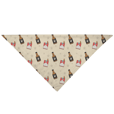 Image of Cigs n' Whiskey Pet Bandana - Greater Half