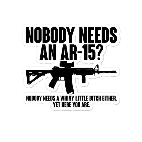 Image of Nobody Needs an AR-15?