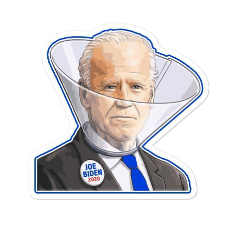 Image of Creepy Joe Biden Sticker - Greater Half