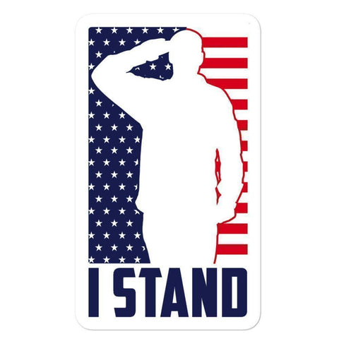 Image of I Stand Sticker