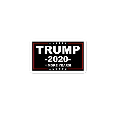 Trump 4 More Years Sticker