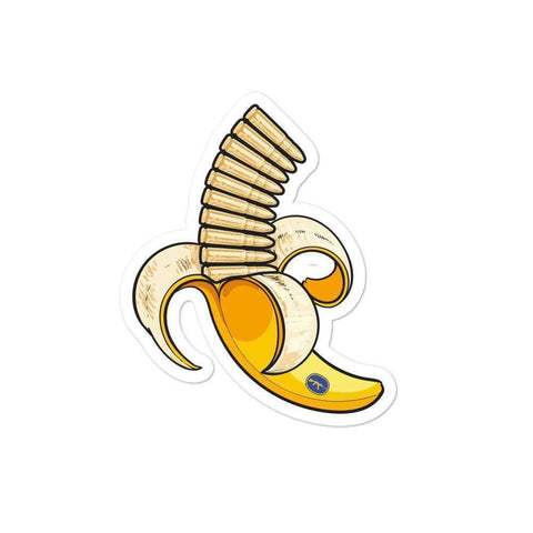 Image of Banana Clip Sticker - Greater Half
