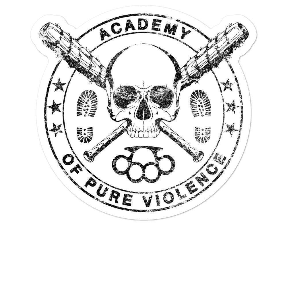 Academy of Pure Violence Sticker