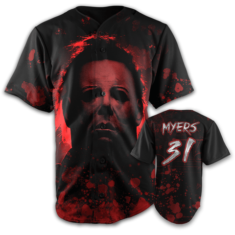 Michael Myers Halloween Edition Jersey Shirt Greater Half SMALL