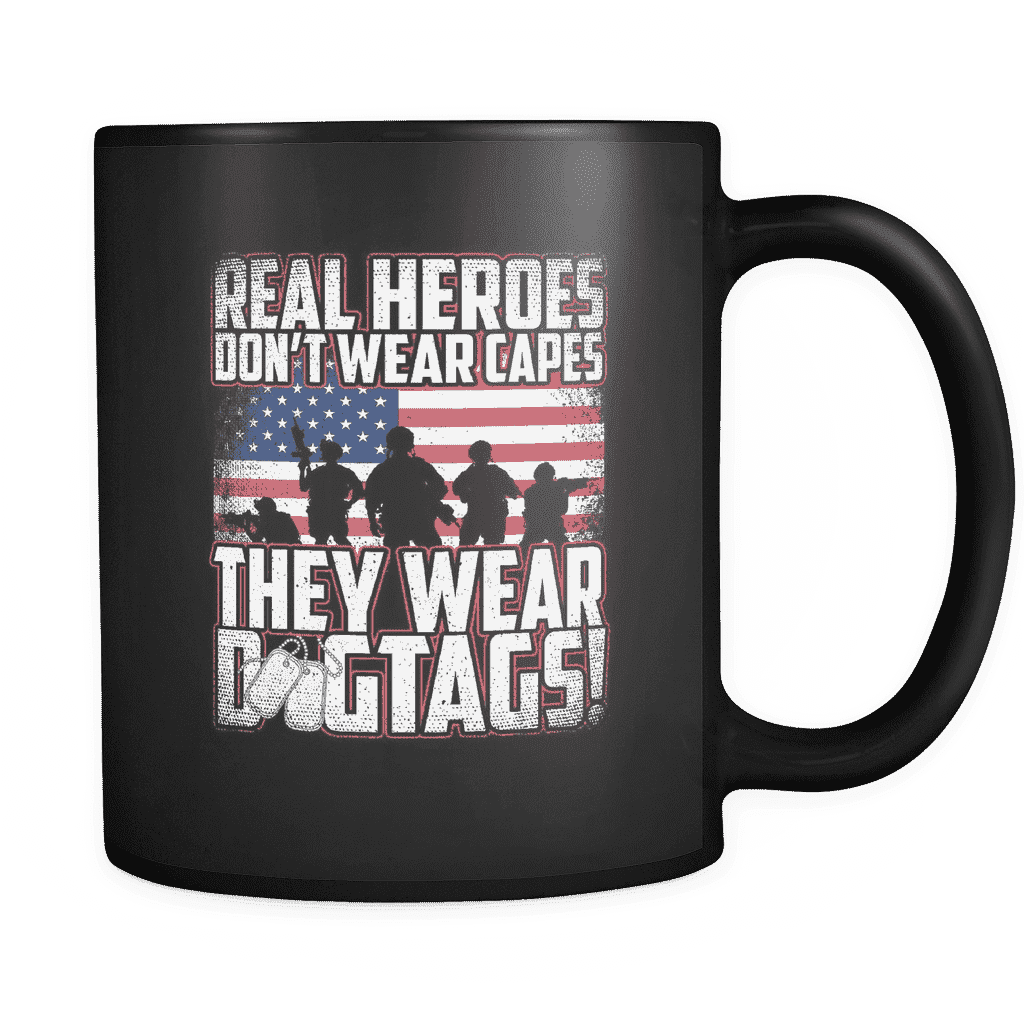Real Heroes Mug Drinkware teelaunch real heroes
