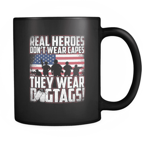 Image of Real Heroes Mug Drinkware teelaunch real heroes