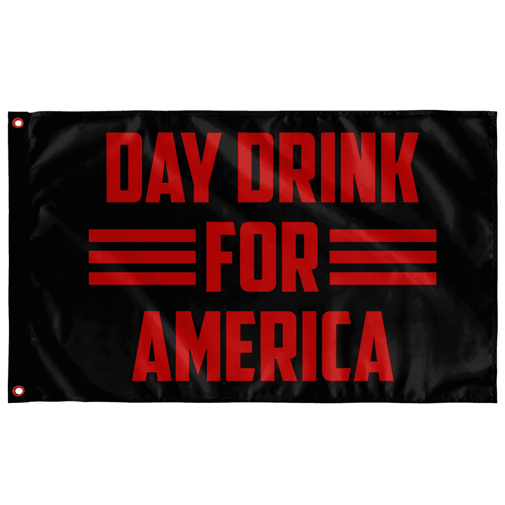 Day Drink for America Flag - Greater Half