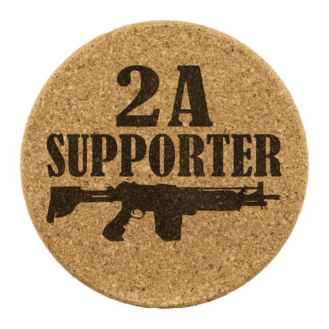 2A Supporter Coasters - Greater Half