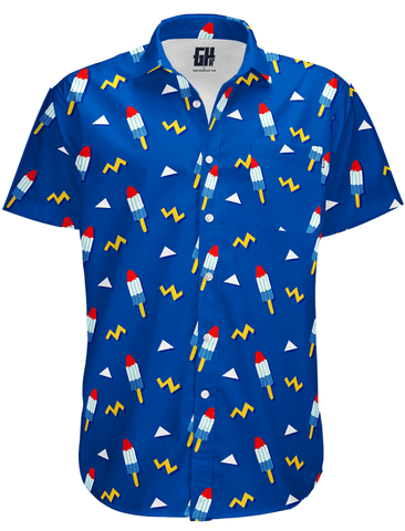 Rocket Pop Button Down