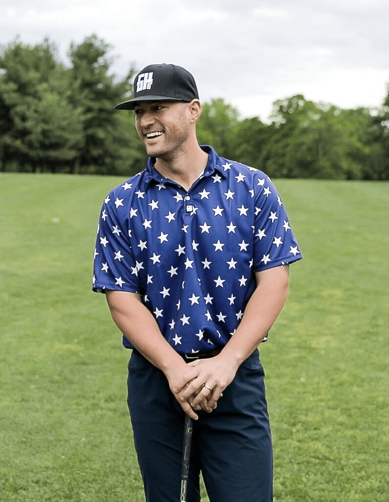 Stars No Bars Golf Polo