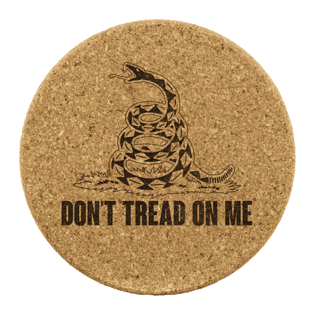 Don't Tread on Me Coasters - Greater Half