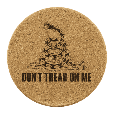 Image of Don't Tread on Me Coasters - Greater Half
