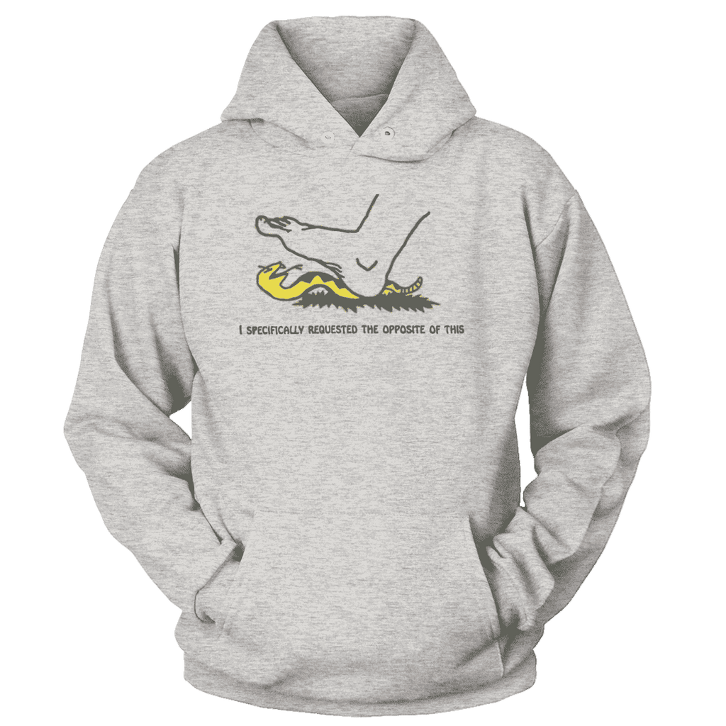 I Specifically Requested the Opposite of This Print Brains Premium Hoodies Ash S
