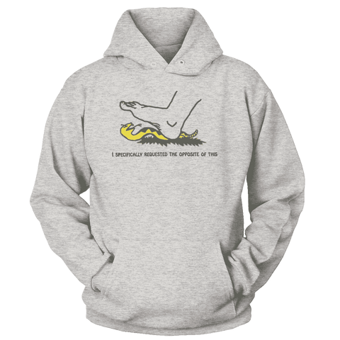 Image of I Specifically Requested the Opposite of This Print Brains Premium Hoodies Ash S