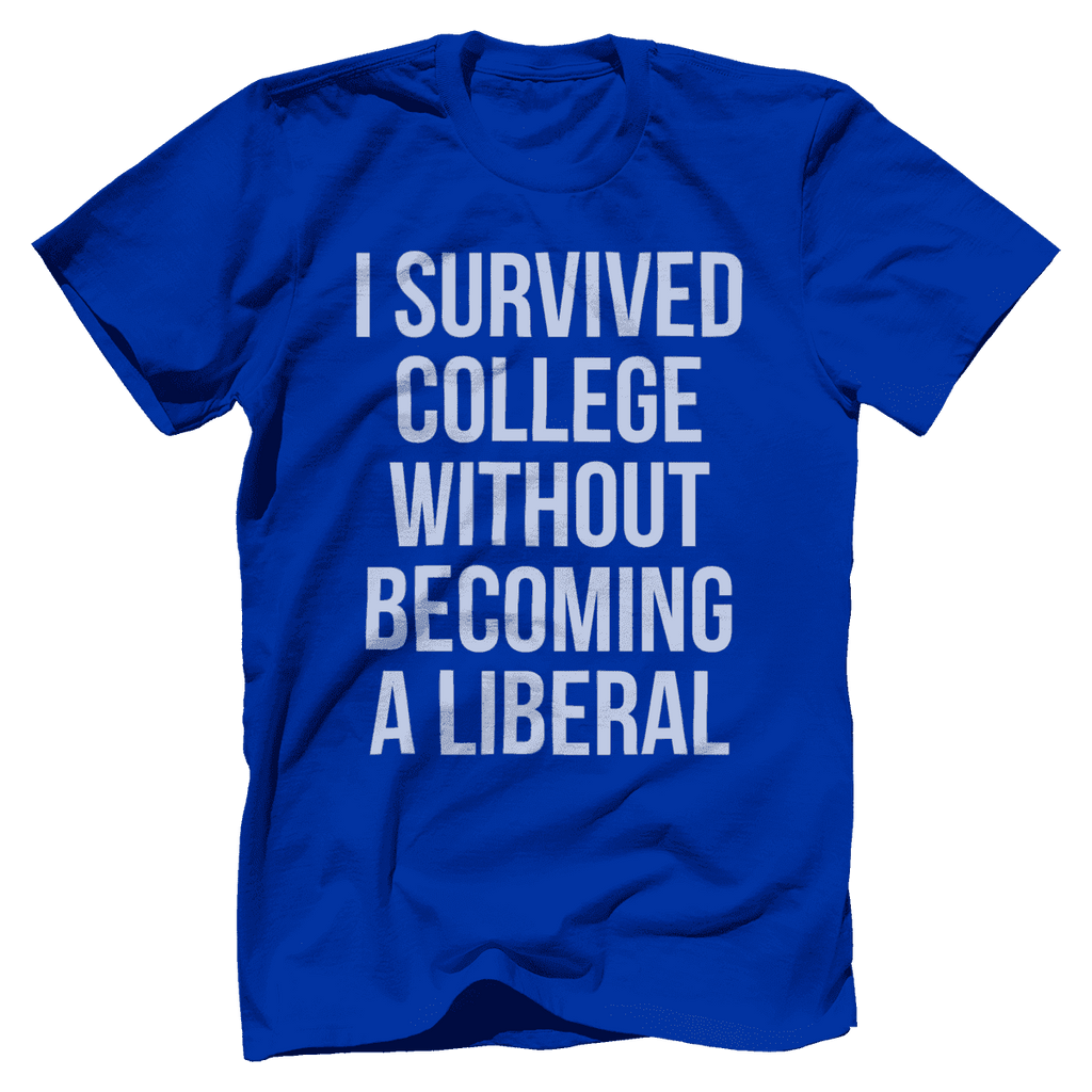 I Survived College Without Becoming a Liberal