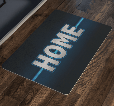 Image of Thin Blue Line Home Doormat