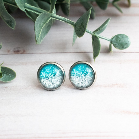 BLUE & SILVER EARRINGS