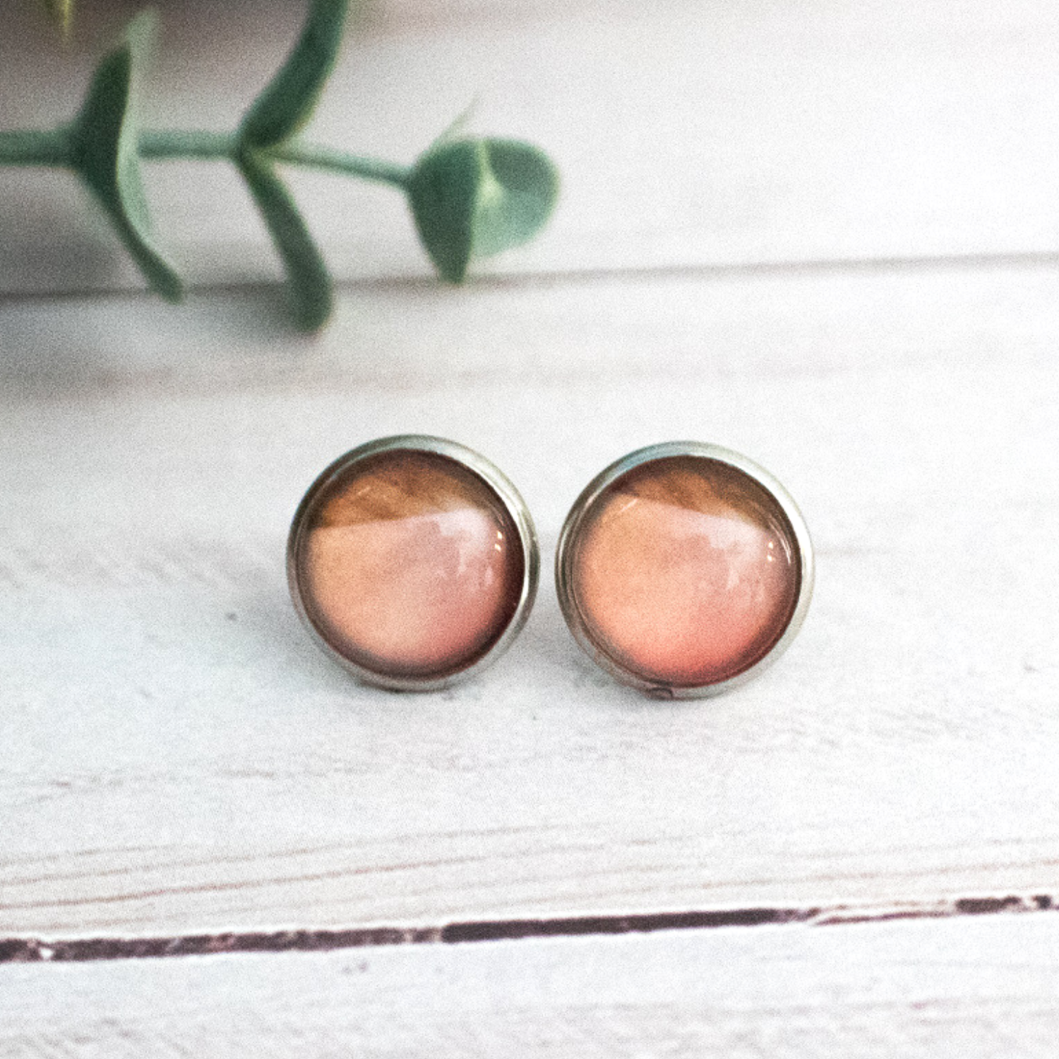 BLUSH & WOOD EARRINGS