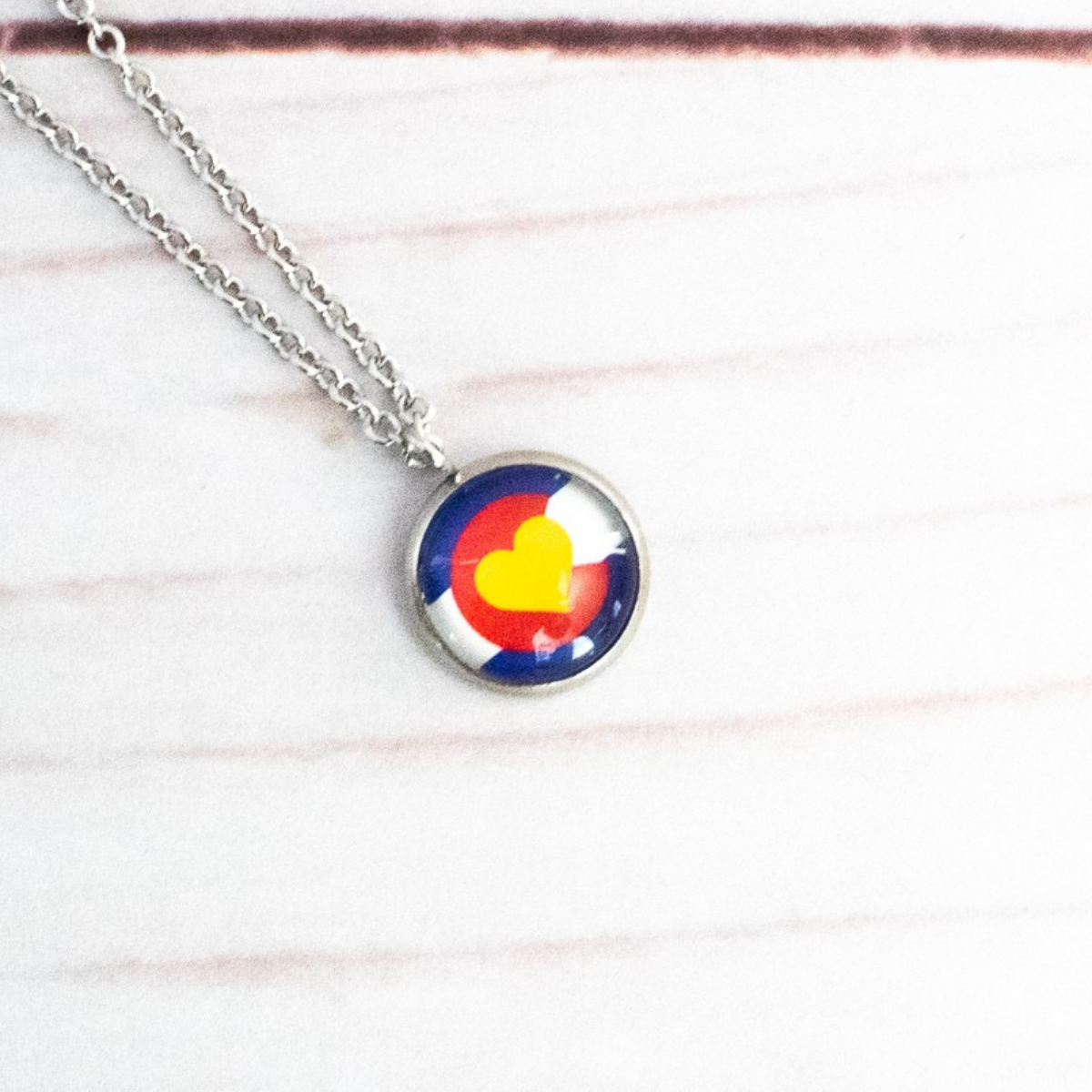 COLORADO HEART NECKLACE