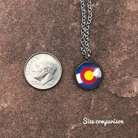 COLORADO SNOW MOUNTAIN NECKLACE