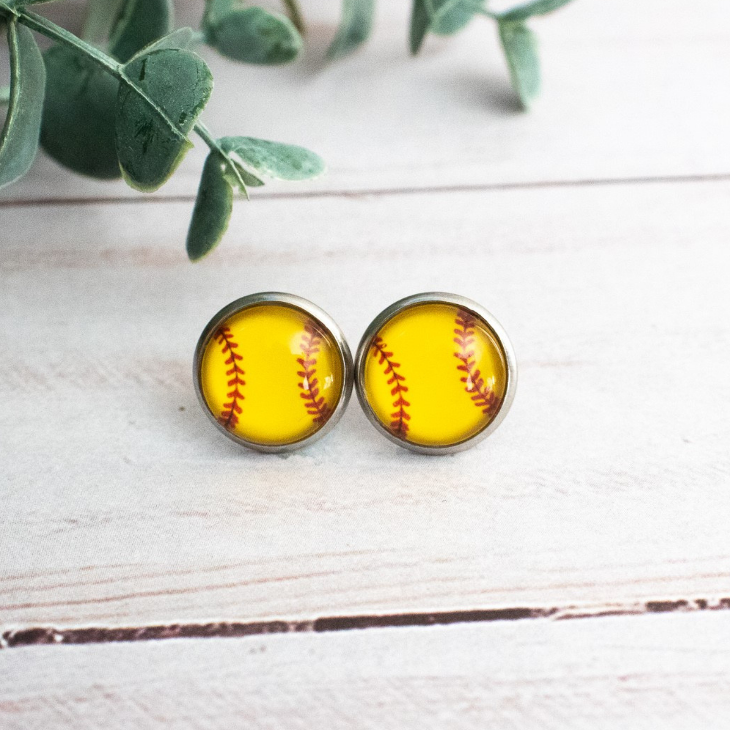 SOFTBALL EARRINGS