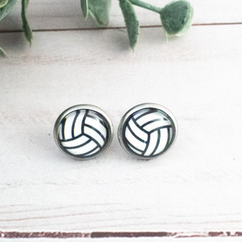 VOLLEYBALL - DARK EARRINGS