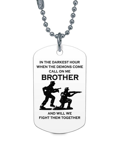 Soldier Dog Tag