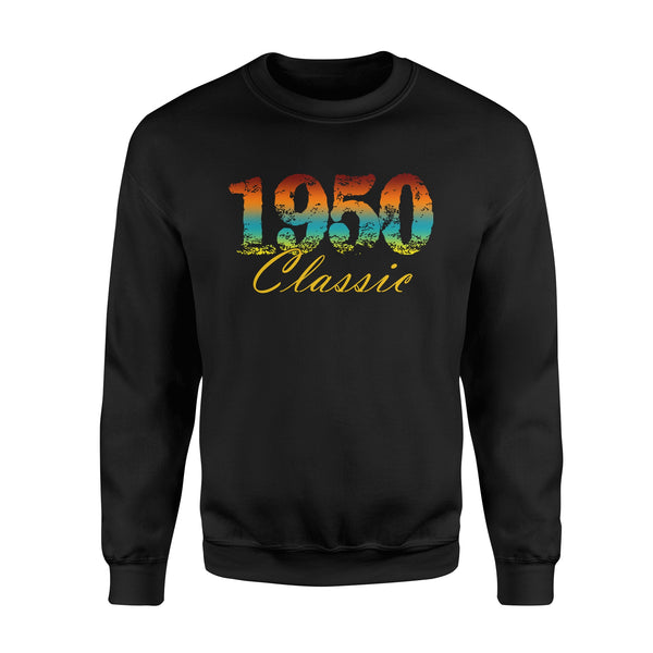 Classic 1950 Born in 1950 - Standard Fleece Sweatshirt