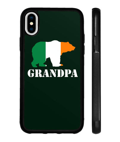 Grandpa Bear St Patricks Day Phonecase