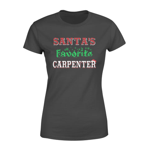 KingBubble Santa's Favorite Carpenter - Standard Women's T-shirt