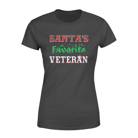 KingBubble Santa's Favorite Veteran - Standard Women's T-shirt
