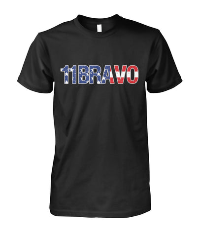 11Bravo U.S. Infantry T-shirt and Hoodie Unisex Cotton Tee