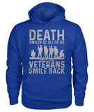 Only Veterans Smile Shirt, Veterans Day Gift Idea Gildan Hoodie