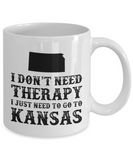 I dont need Therapy, I just need to go to Kansas