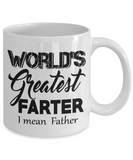 World's Greatest Farter- I Mean Father