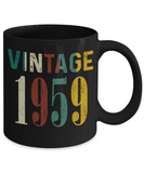 60th Birthday Gifts Vintage 1959 Mug for Awesome in New Year 2019