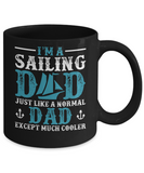 Sailing Dad Coffee Mug- Normal Dad Coffee Mug