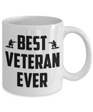Best Veteran Ever Coffee Mug Tea Cup