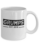 Grumps Est. 2018 Mug, New Grumps Gifts, Grumps Coffee Mug, Grandparents Day Gifts